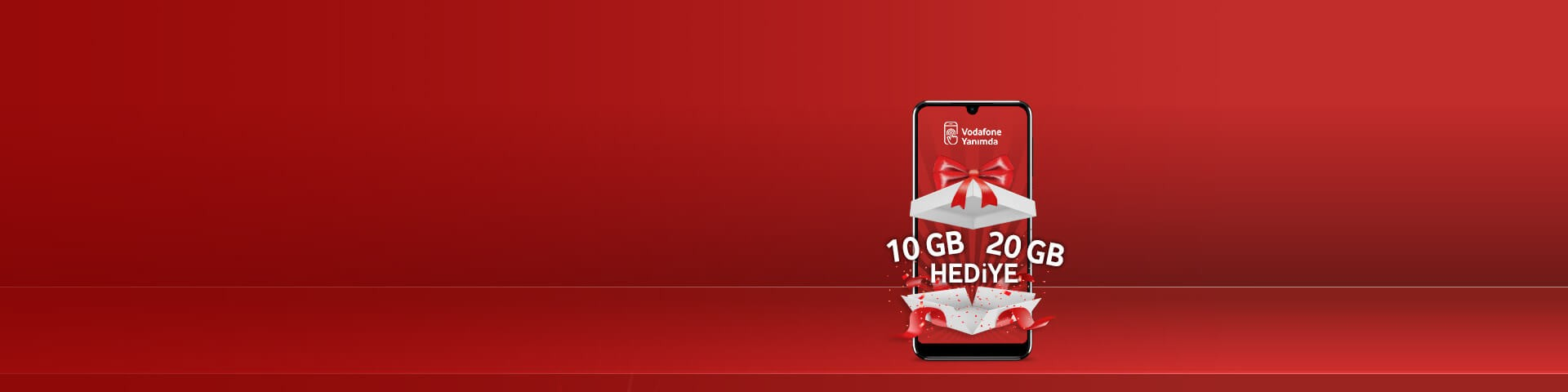 Vodafone'a Hoş Geldin Hediyesi