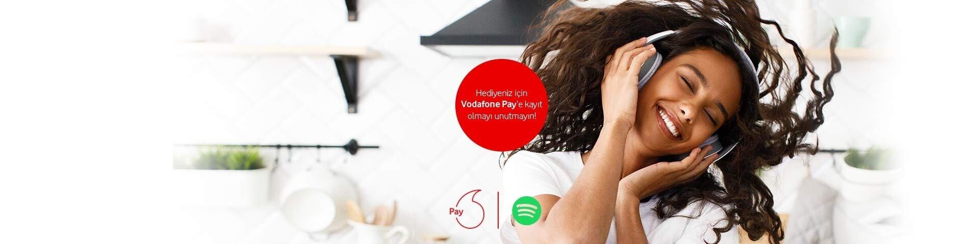 Spotify'da Vodafone Mobil Ödeme Ayrıcalığı!