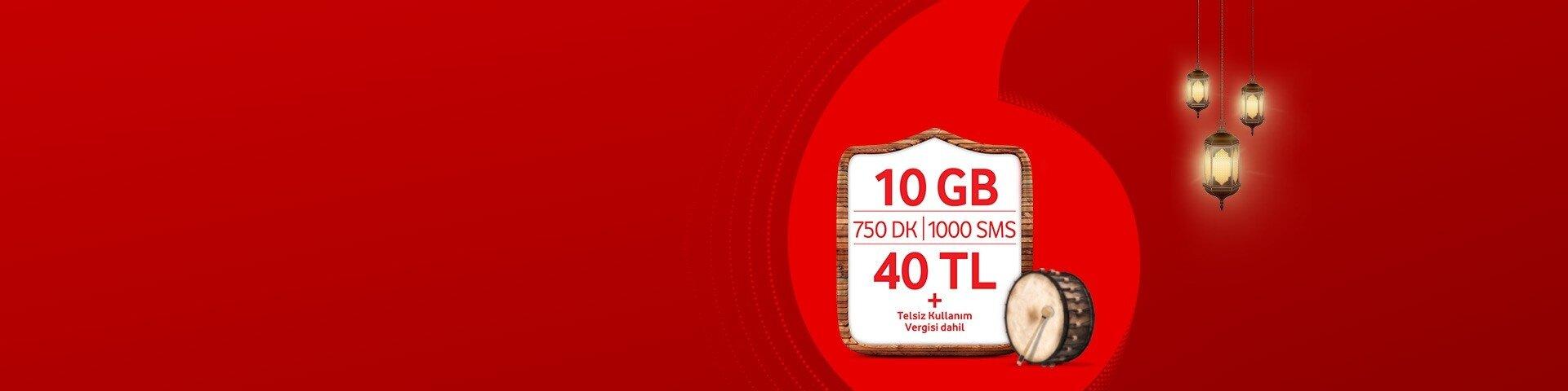 Ramazanda şeker gibi fırsatlar Vodafone'da!