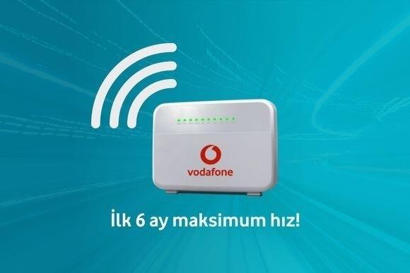 65TL'den başlayan fiyatlar ile Vodafone Evde İnternet