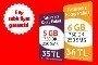 1GB sadece 1TL