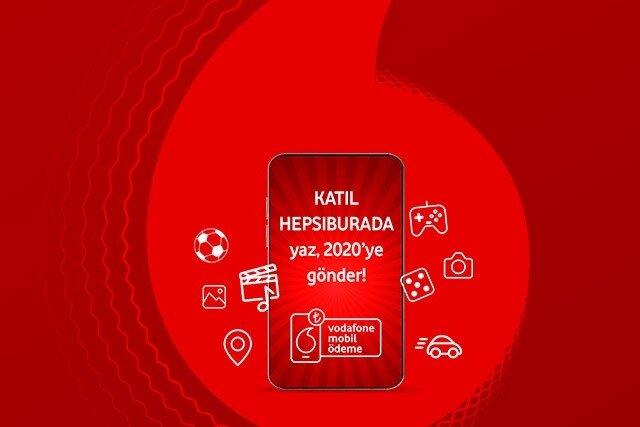 Vodafone Mobil Ödeme ile ilk alışverişinizde Hepsiburada'da 10 TL hediye!