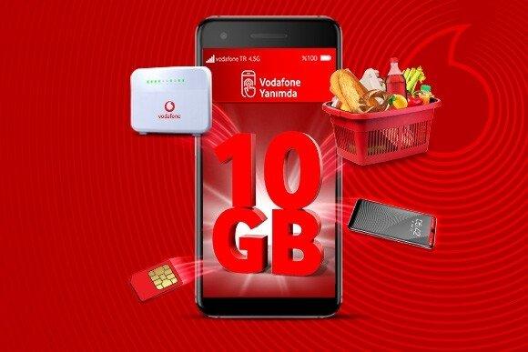 Üstelik tarifeden, ev internetine, akıllı cihazlardan, süpermarket alışverisinize en az +10 GB hediye