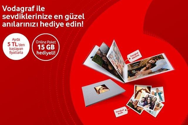 Fotoğraf baskı paketleri tarifeye ek 5 TL'den başlayan fiyatlarla!