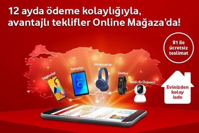 Tüm teknolojik cihazlarda tarifenize ek ödeme fırsatı Online Mağaza'da!