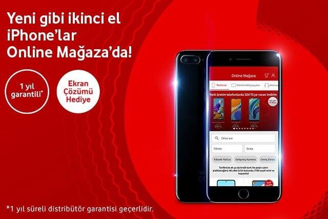 Yenilenmiş ve garantili ikinci el iPhone'lar şimdi Online Mağaza'da!