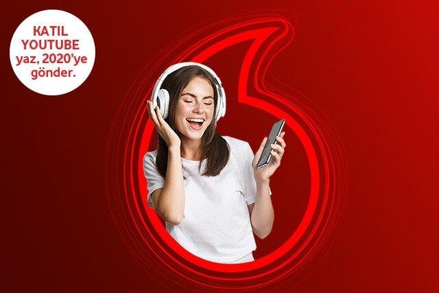 Vodafone Mobil Ödeme ile Youtube Harcamanızın %50'si Hediye!
