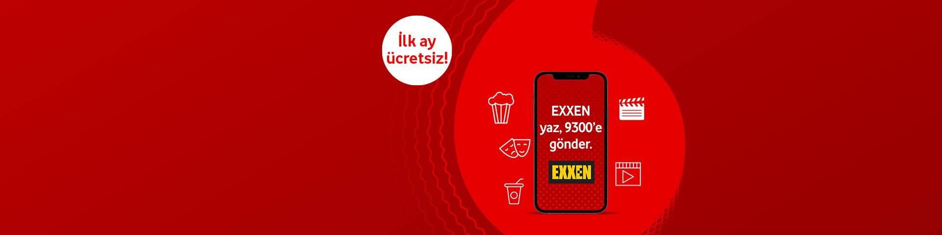 Vodafone Mobil Ödeme ile Exxen