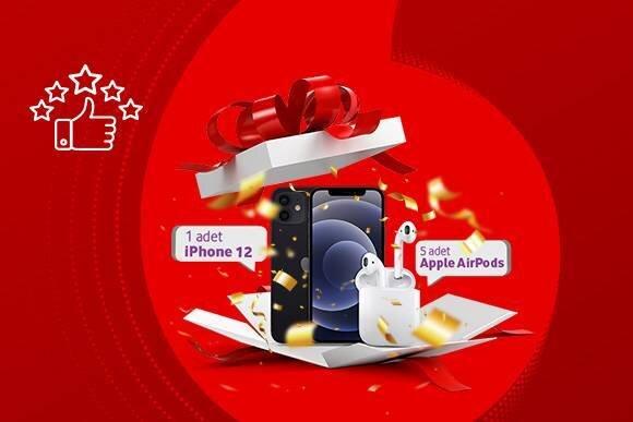 iPhone 12 ve Airpods Çekiliş Kampanyası