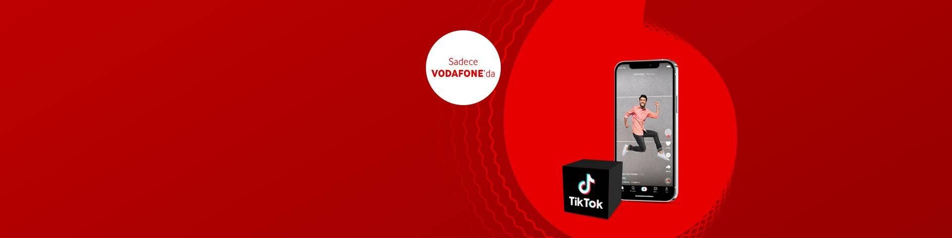 Sınırsız TikTok Paketleri şimdi Vodafone'da