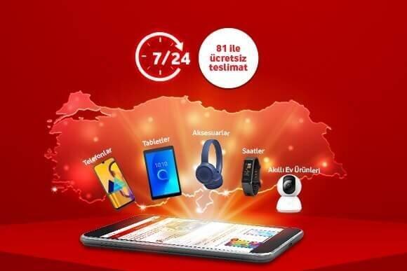 Tarifenize ek avantajlı cihaz teklifleri Vodafone Online Mağaza'da!