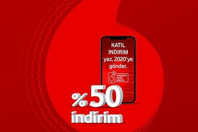 Vodafone Mobil Ödeme ile 30 TL'ye varan indirim kazanın!