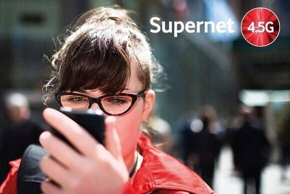 Supernet 4.5G ile tanışmanız için kaçırılmayacak fırsatlar!