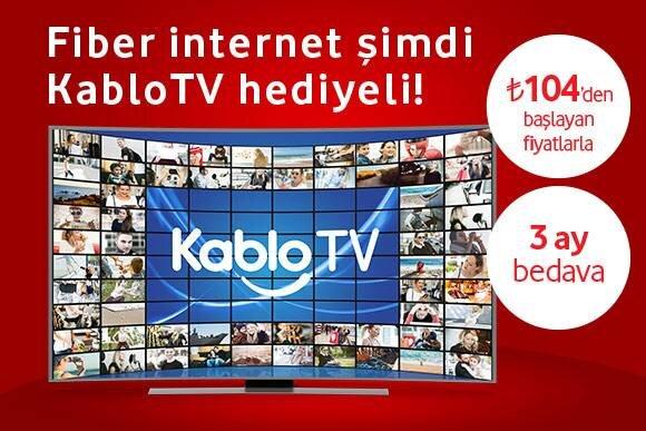 TV Hediyeli Evimin Fiberi Kampanyası