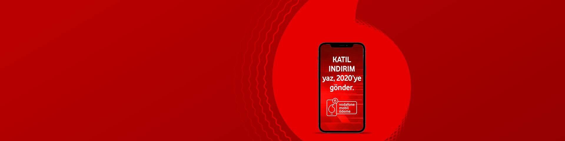 Vodafone Mobil Ödeme'den 20 TL Hediye!