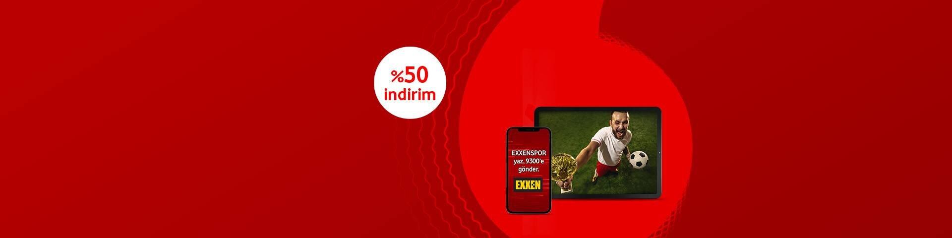 Vodafone Mobil Ödeme ile Exxen Spor
