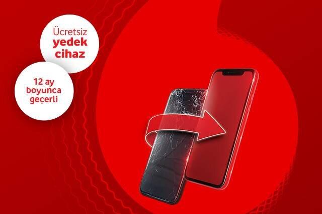 Ekran arızalarından korkma, ücretsiz onarım Vodafone'da