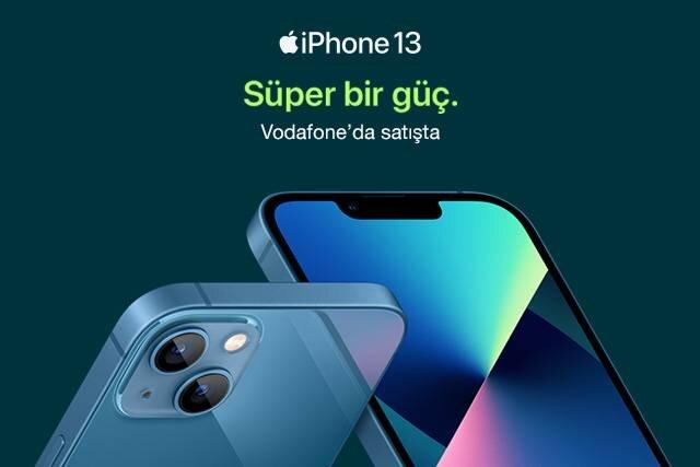 Süper güç iPhone 13 şimdi Online Mağaza'da !
