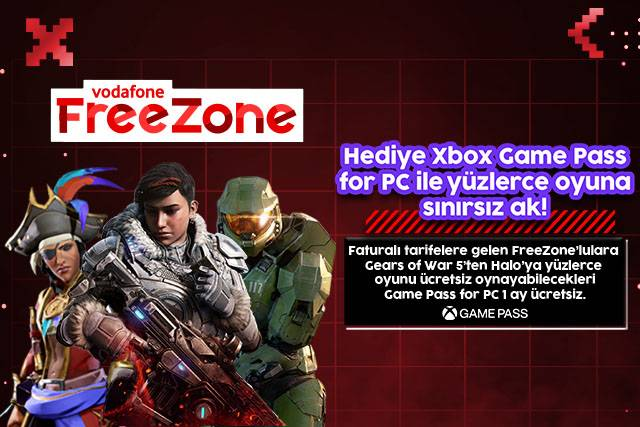 1 aylık Xbox Game Pass for PC Hediyen ile yüzlerce oyuna sınırsız ak!